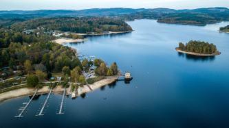 Lac of Vassivière (Limousin)