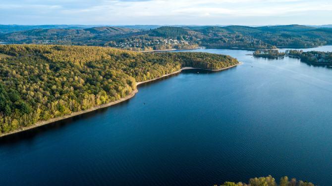 Lake of Vassivière (Limousin)