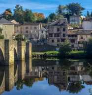 Saint Etienne's bridge in Limoges