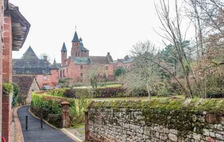 the village of Collonges-la-Rouge