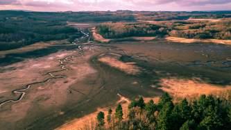 The lac of Saint Pardoux (Limousin)